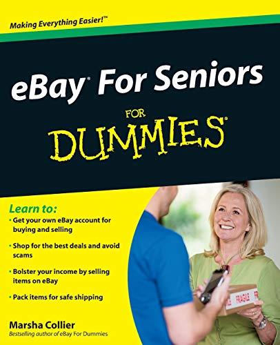 eBay For Seniors For Dummies By Marsha Collier