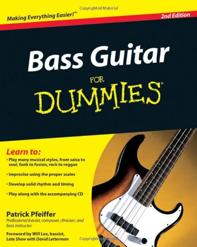 Bass Guitar Basics For Dummies By Patrick Pfeiffer