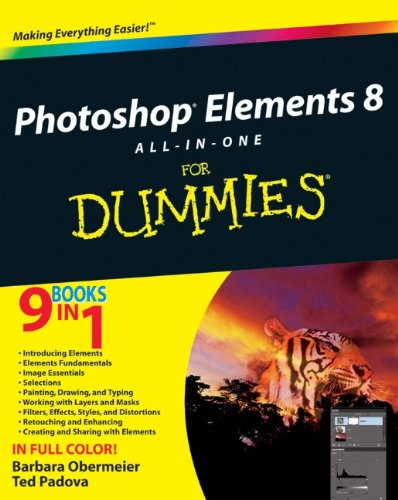 Photoshop Elements 8 All-in-One For Dummies By Barbara Obermeier