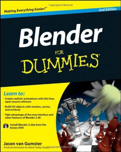 Blender For Dummies By Jason Van Gumster