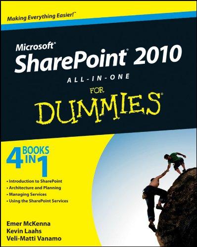 SharePoint 2010 AIO FD (For Dummies) By Emer McKenna