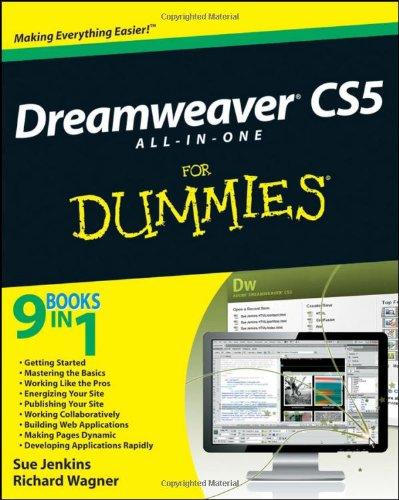 Dreamweaver CS5 All-in-one For Dummies By Sue Jenkins