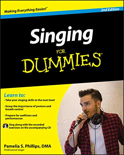 Singing For Dummies (Book & CD) By Pamelia S. Phillips