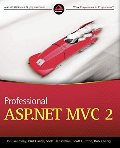 Professional ASP.NET MVC 2 By John Galloway
