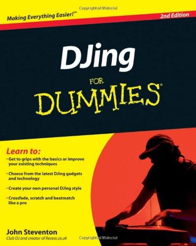 DJing For Dummies By John Steventon