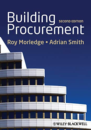 Building Procurement By Roy Morledge