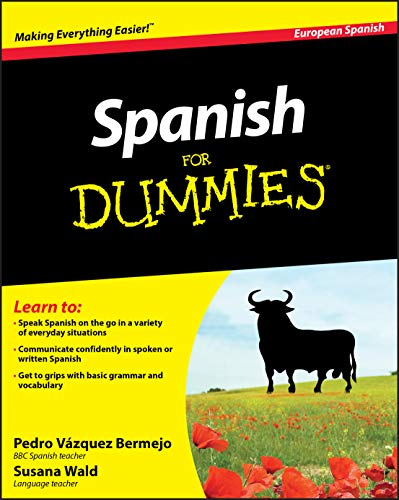 Spanish For Dummies (European Spanish) By Pedro Vazquez Bermejo