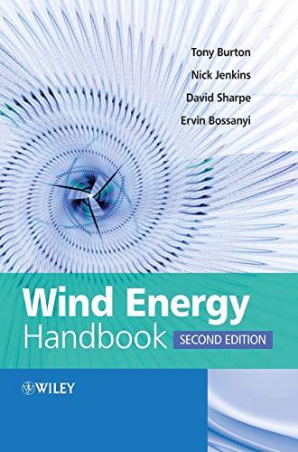 Wind Energy Handbook 2e By Tony Burton