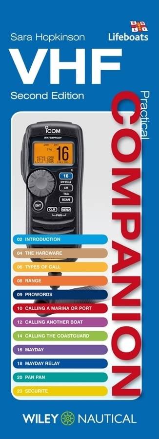 VHF Practical Companion 2e (Practical Companions) By Sara Hopkinson