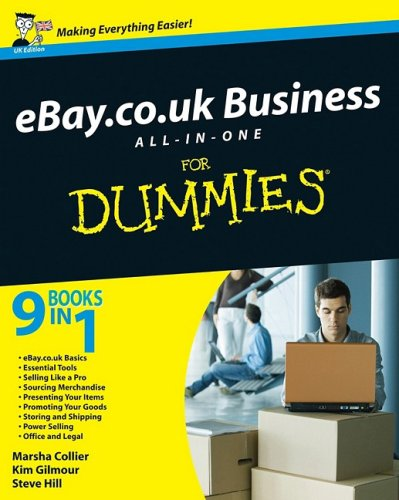 eBay.co.uk Business All-in-One For Dummies (UK Edition) By Steve Hill