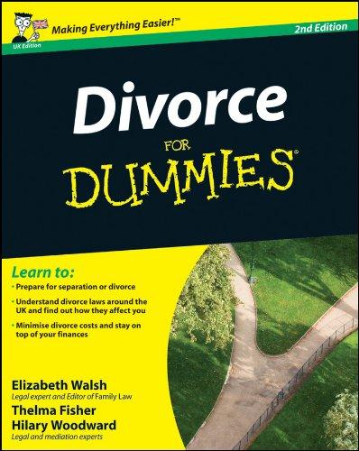 Divorce For Dummies By Elizabeth Walsh