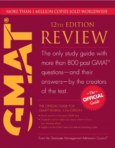 The Official Guide for GMAT Review By Graduate Management Admission Council (GMAC)