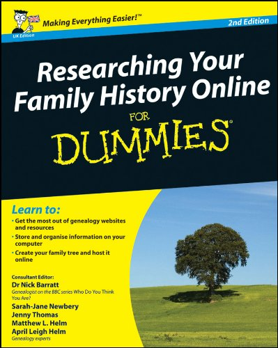 Researching Your Family History Online For Dummies, 2nd Edition (UK Edition) By Sarah Newbery