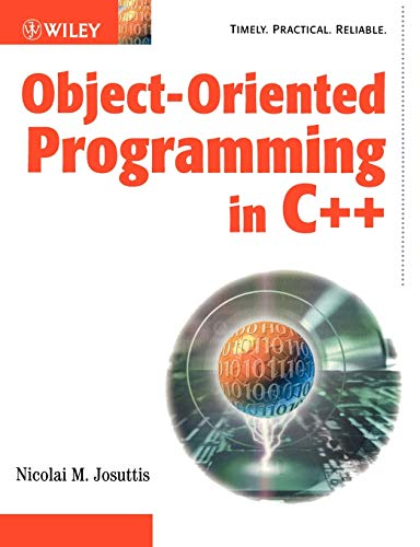 Object-Oriented Programming in C++ By Nicolai M. Josuttis