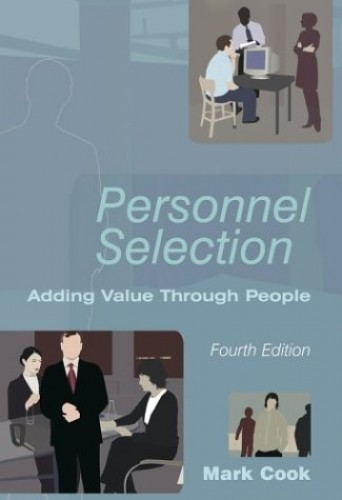 Personnel Selection By Mark Cook