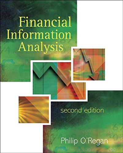 Financial Information Analysis By Philip O'Regan