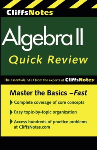 CliffsNotes Algebra II QuickReview: 2nd Edition By Edward Kohn