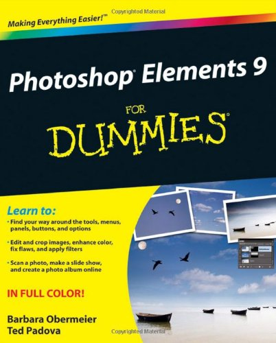 Photoshop Elements 9 For Dummies by Barbara Obermeier