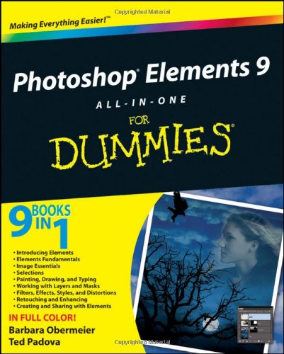 Photoshop Elements 9 All-in-One For Dummies By Barbara Obermeier