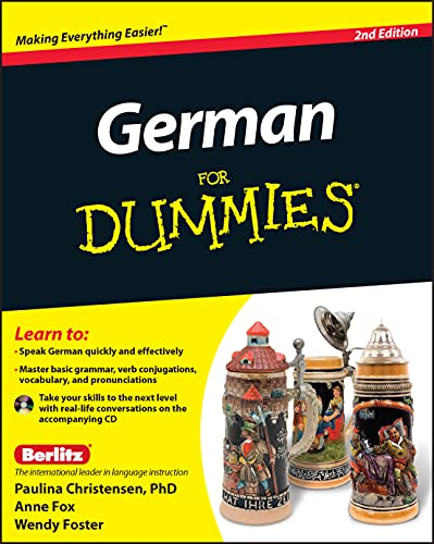 German For Dummies: (with CD) By Paulina Christensen