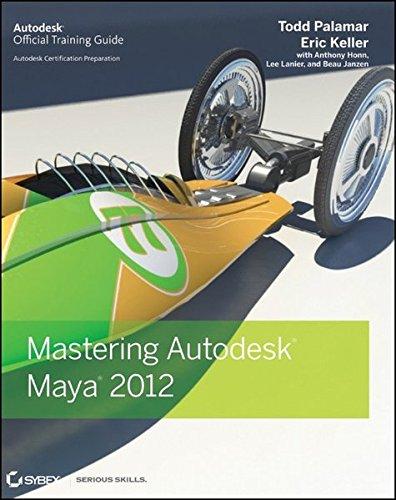 Mastering Autodesk Maya 2012 By Todd Palamar