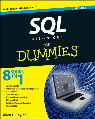 SQL All-in-One For Dummies, 2nd Edition By Allen G. Taylor