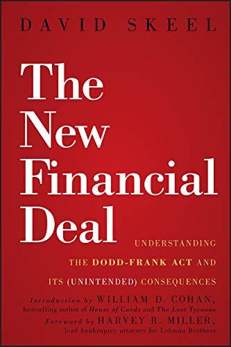 The New Financial Deal By David Skeel, Jr.