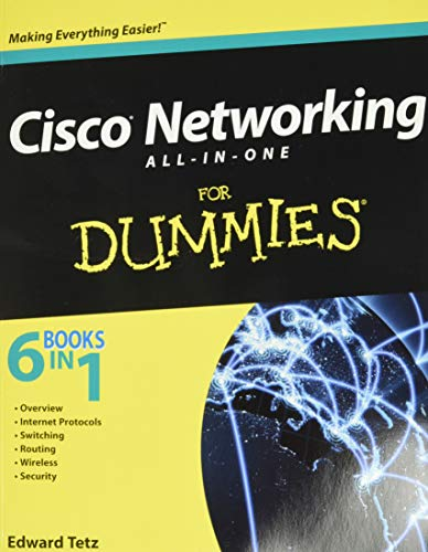 Cisco Networking All-in-One For Dummies By Edward Tetz