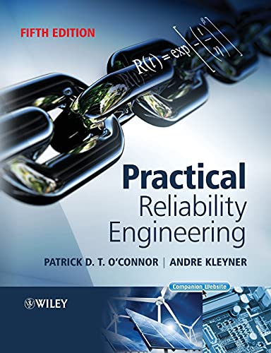 Practical Reliability Engineering By Patrick O'Connor