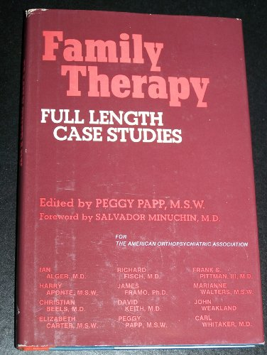 Family Therapy By Peggy Papp