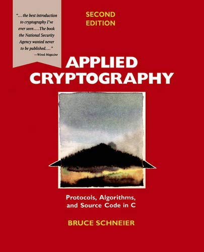 Applied Cryptography By Bruce Schneier