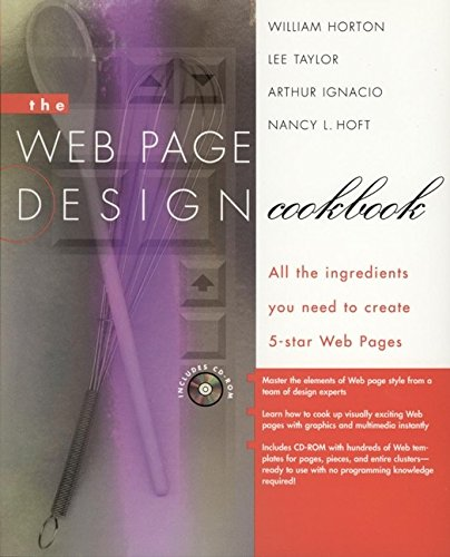 The Web-page Design Cookbook By William K. Horton