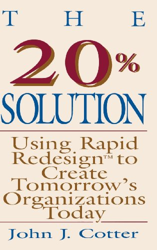 The 20 Per Cent Solution By John J. Cotter