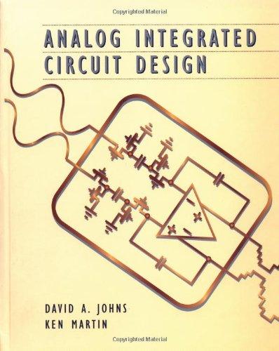 Circuit Design By David A. Johns