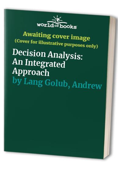 Decision Analysis By Andrew Lang Golub