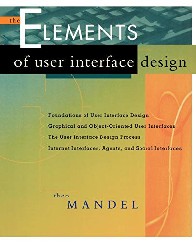 User Interface Design By Theo Mandel