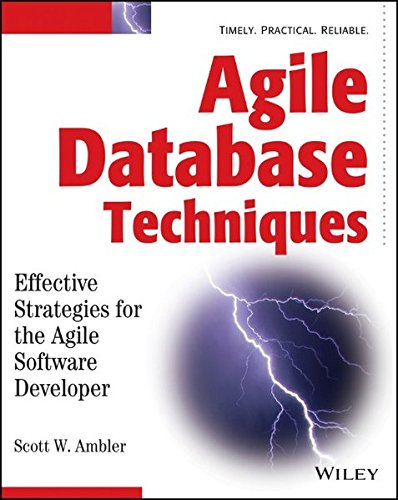 Agile Database Techniques By Scott W. Ambler