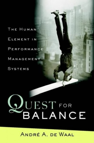 Quest for Balance By Andre A. De Waal