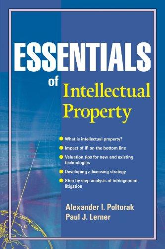 Essentials of Intellectual Property By Alexander I. Poltorak