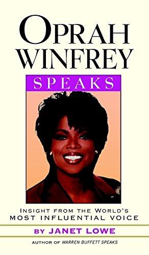 Oprah Winfrey Speaks By Oprah Winfrey