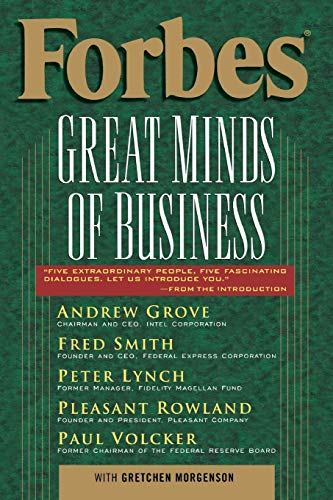 Forbes (R) Great Minds of Business By Forbes Magazine Staff