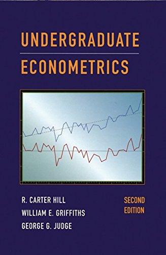 Undergraduate Econometrics By R. Carter Hill