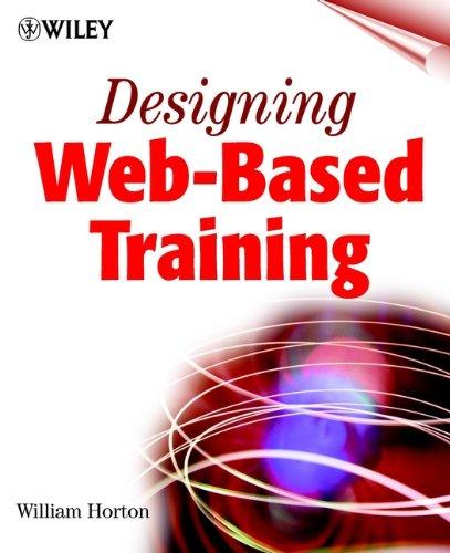 Designing Web-based Training By William Horton