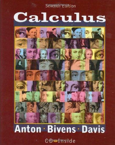 Calculus By Howard Anton