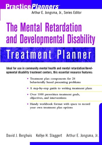 The Mental Retardation and Developmental Disability Treatment Planner By Kellye H. Slaggert