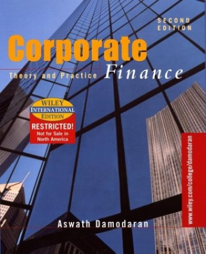 Corporate Finance By Aswath Damodaran