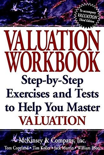 Valuation Workbook By Tom Copeland