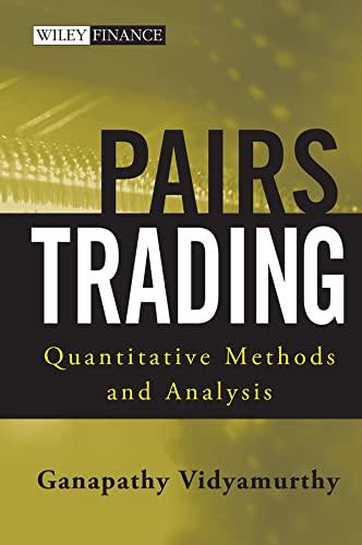 Pairs Trading By Ganapathy Vidyamurthy