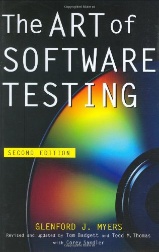 The Art of Software Testing By Glenford J. Myers