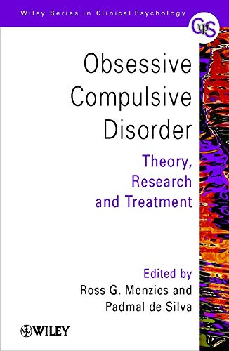 Obsessive-Compulsive Disorder By Edited by Ross G. Menzies